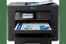 Epson WorkForce Pro WF-7840 front view