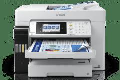 Imprimante Epson ET-16680, blanc / noir.