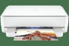 HP ENVY 6022e printer, white.