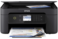 Epson XP-4104 printer, black.