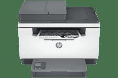 HP LaserJet M233sdn printer, gray.