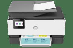 HP OfficeJet Pro 9014e printer, gray.