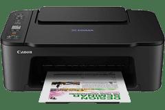Canon E3470 printer, black.