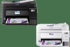 Epson EcoTank ET-3850 printer, black / white.