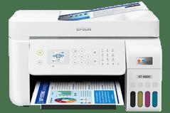 Epson EcoTank ET-4800 printer, white