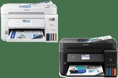 Epson EcoTank ET-4850 printer, black / white.