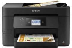 Epson WF-3825 printer, black.