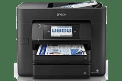 Epson WF-4835 printer, black.