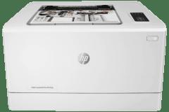 HP Color LaserJet Pro M155a printer, white