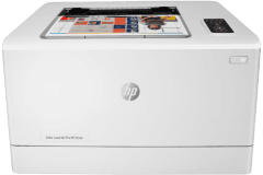 HP Color LaserJet Pro M155nw printer, white.