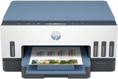 HP Smart Tank 7002e printer, blue / white