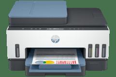 HP Smart Tank 755 printer, gray / blue
